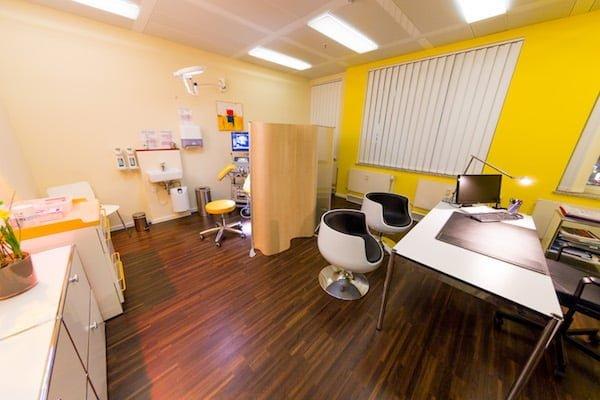 Behandlungsraum Praxis Fertilitaet