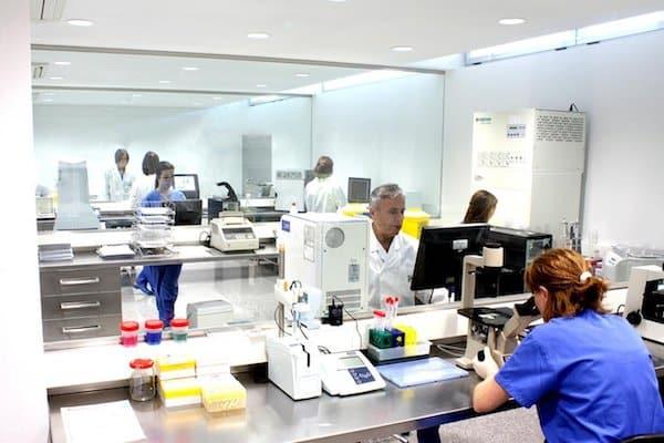 Genetisch-biotechnologisches Labor