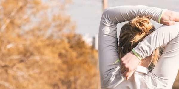 Rückenschmerzen bei Frau